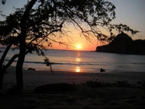 Sunset redonda bay