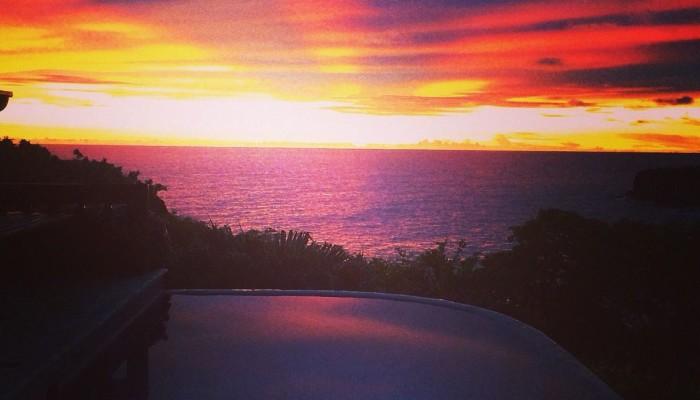 la vista sunset